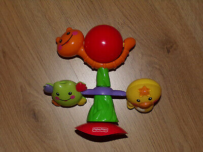 Fisher Price Spin N Play Spielzeug mit Saugnapf