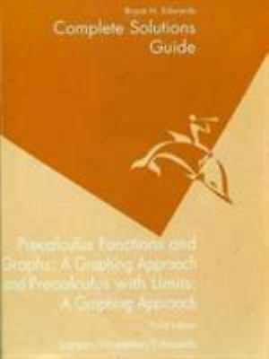 PRECALCULUS WITH LIMITS : A Graphing Approach by Ronald E