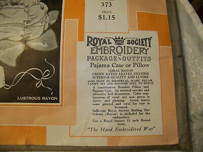 Antique Arts and Crafts  Embroider Royal Society