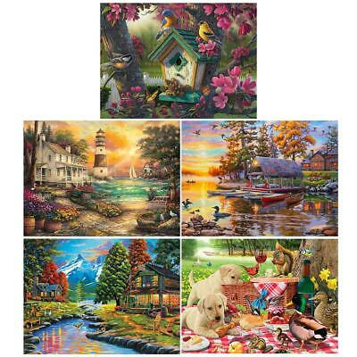 Full Drill Diamond Painting 5D DIY Cross Stitch Embroidery Kit Wall Decor Craft