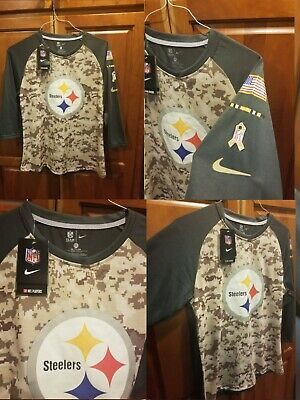 quality design 2b033 4124f NEW NIKE PITTSBURGH Steelers Salute to Service Hoodie Men's ...