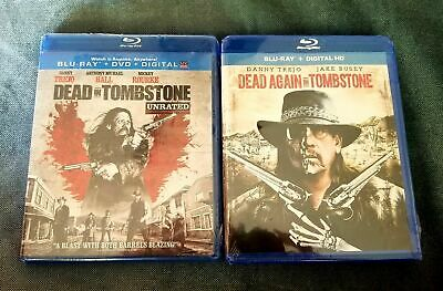 Combo Blu-Ray Discs Dead In Tombstone Unrated & Dead Again In Tombstone-Brand Ne