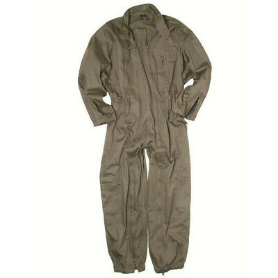 Mil-Tec French Army Style OD Coveralls - Size XL Mechanics-Style Coveralls. XL