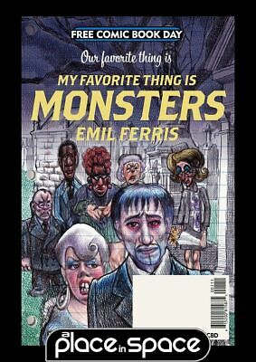 Free Comic Book Day 2019 - Our Favorite Thing Is: My Favorite Thing Is Monsters