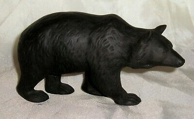 Wedgwood C1910 Basalt Bear By Light