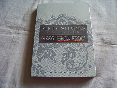 Fifty Shades of Grey 3-Movie Collection DVD Free USPS Shipping