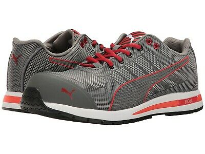 PUMA XELERATE KNIT Low S1P greyred composite toe safety