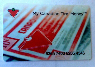 Canadian Tire Collectible Gift Card ---0---Balance---Zero