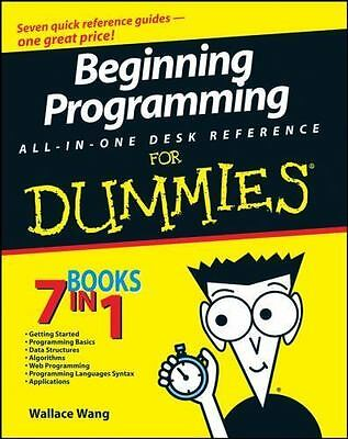 Beginning Programming All-In-One Desk Reference For Dummies pdf b00k