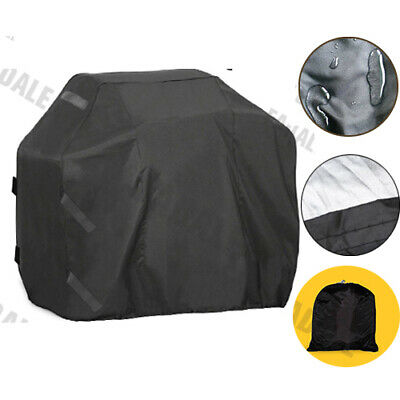 Multi-size Fitted Heavy Duty BBQ Grill Barbecue Cover Outdoor Rain / Dust Proof
