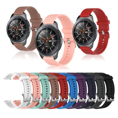 Replacement Sport Wrist Band Strap for Samsung Galaxy Watch 42mm/46mm Gear 3 S/L