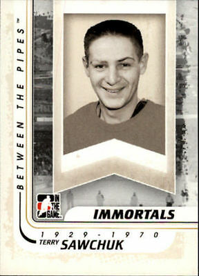 2010-11 Between The Pipes #191 Terry Sawchuk near Mint!