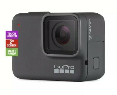 Brand New Go Pro Hero 7 Silver Sports Action Cam, Waterproof 4K 30fps , RRP$449