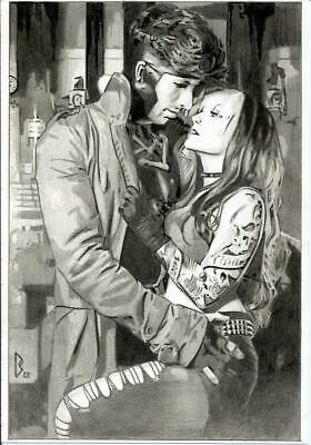 MARVEL Comics ROGUE & GAMBIT Original Art MR MRS X-MEN X-23 WOLVERINE STORM JEAN