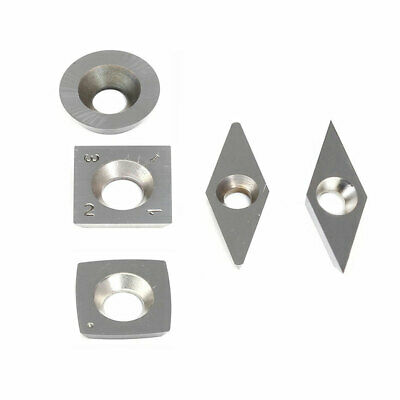 Carbide Tips Inserts Blades For Chisel Cutter Wood Turning Lathe Holder Tool New