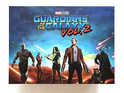 Box Blufans Pour Bluray Steelbook Les Gardiens De La Galaxie Vol. 2 + Figurine
