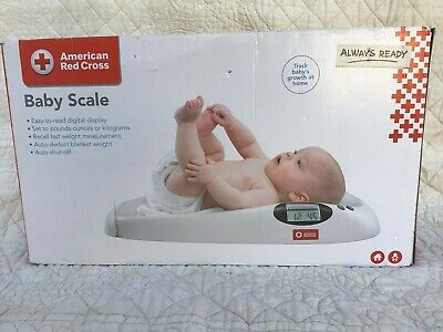 The First Years American Red Cross Soothing Music Playing Baby Scale..Brand New!