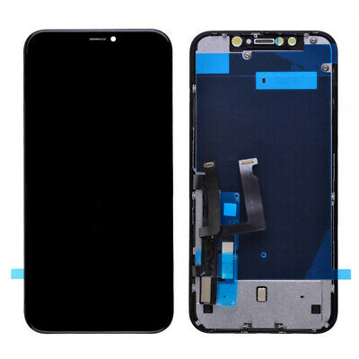 US Black LCD Screen Touch Digitizer Assembly Replacement For Apple iPhone 6 4.7""