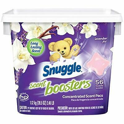 Snuggle Laundry Scent Boosters Concentrated Scent Pacs Lavender Tub Concentrated