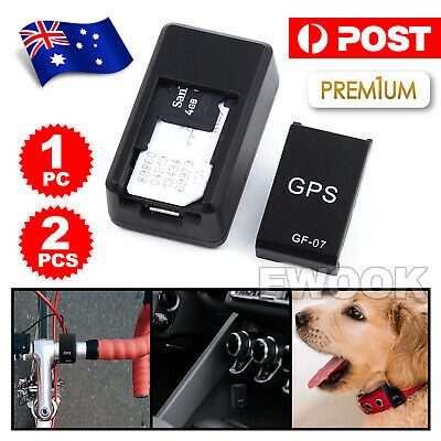 Mini GF07 Car GPS Tracker Spy Realtime SOS Tracking Device GSM/GPRS Anti-lost AU