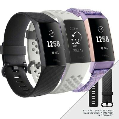 Fitbit Charge 3 Special Edition Fitnesstracker Smartwatch Sportuhr Uhr