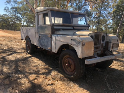 Landrover Ute LWB 1953 to 1958 Series 1