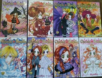 Collection complete de mangas Chocola et Vanille Tome 1 à 8