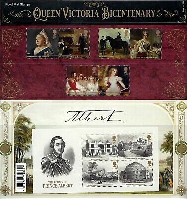 Gb 2019 Mint Queen Victoria Presentation Pack 570 Stamps Sheet Prestige Book