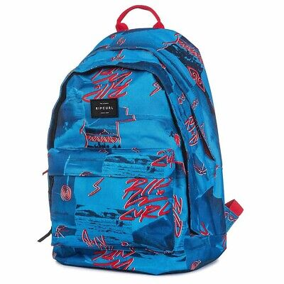 Sac à dos Rip Curl Poster Vibes Double Dome Blue 40 CM- 2 Cpt