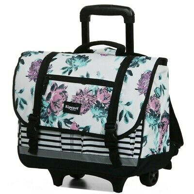 Cartable à roulettes Rip Curl Desert Flower Wheeley Satchel White 38 CM