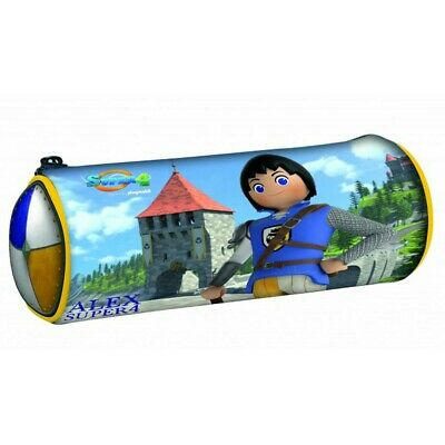 Trousse ronde Playmobil Super 4 Alex 20 CM