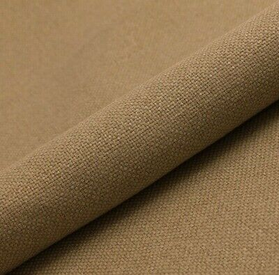 5m PRESTIGIOUS THICK LINEN UPHOLSTERY SEATING CURTAIN FLORAL GREEN FABRIC