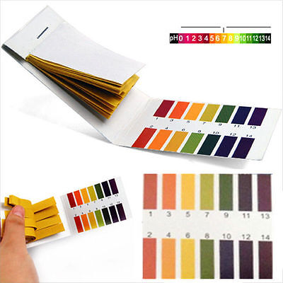Aquarium 80pcs PH 1-14 Litmus Paper, ULTRA FAST DISPATCH 24HRS FROM UK