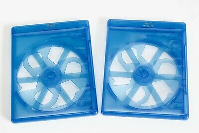 2 x Blu-ray Case - American Eco Design - 11mm thinner spine - Replacement