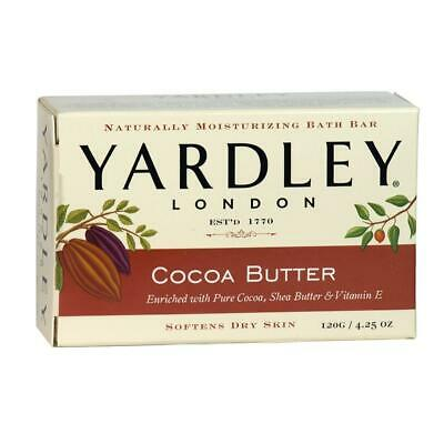 Yardley London Moisturizing Bath Bar 120g Soap - Cocoa Butter