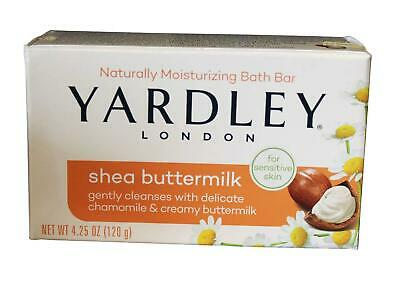 Yardley London Moisturizing Bath Bar 120g Soap - Shea Buttermilk