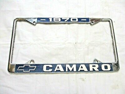 1970 Camaro Front or Rear License Plate Frame