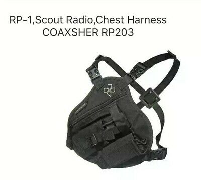 RP-1,Scout Radio,Chest Harness COAXSHER RP203