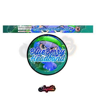 Blueberry Headband Pressitin Strain Labels
