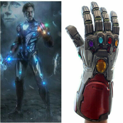 Endgame Infinity Gauntlet Iron Man Tony Stark Gloves Cosplay Prop Avengers 4 new