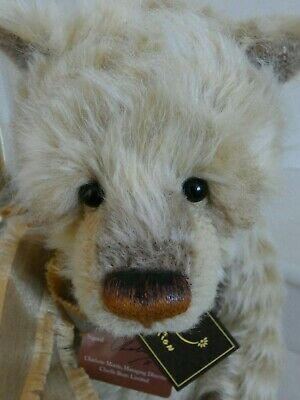 Charlie Bears  Isabelle Masterpiece 2016 - Mohair L/E New With Tags/Bag