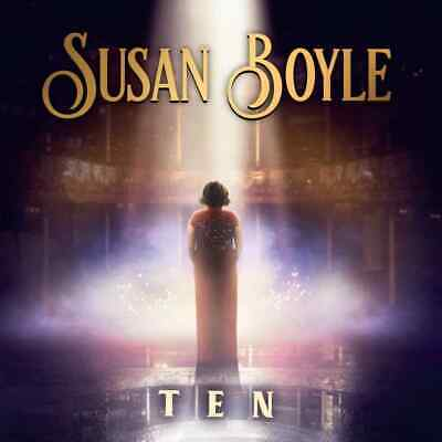 Susan Boyle hand Signed TEN CD Album greatest hits a million dreams