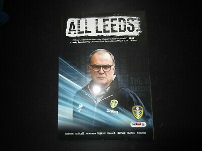 2018/19 LEEDS UNITED v DERBY COUNTY  (CHAMPIONSHIP PLAY OFF SEMI FINAL)