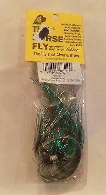 2 Magna Dyne The Horse Fly Trolling Fly Watermelon 985 10 NIP