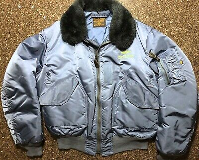 9fa950298 BREITLING X ALPHA INDUSTRIES Bomber Jacket Size M NEW Novelty Rare ...