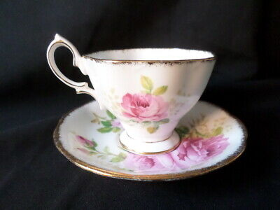 Royal Albert. American Beauty. Duo. Tea Cup And Saucer. Made In England