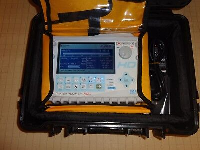 Promax TV Explorer HD LE High Definition TV ANALYSER