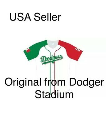 2019 Los Angeles Dodgers Mexican Heritage Culture Night Jersey Mexico SGA New