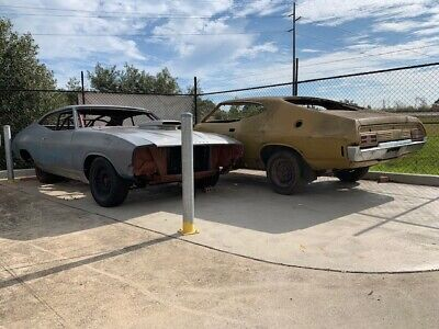 2 Ford FALCON XB COUPES PACKAGE