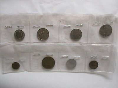 Lot of Eight (8) World Coins #1